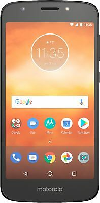 Verizon Prepaid - Moto E5 Play with 16GB Memory Prepaid Cell Phone - Black