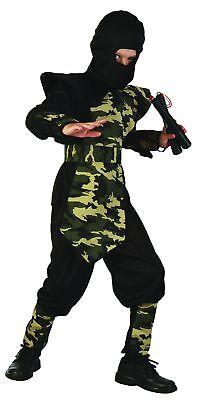 Militär Ninja Kostüm für Jungen Cod.221930 ()