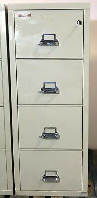 Fireking Fireproof Cabinet 42131c Legal Size 21 Wide 4 Drw  1-hr Fire Rated 2