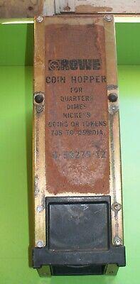 Rowe Bc-series Coin Hopper 6-50276-12 Quarters Dimes Nickels Parts Or Repair