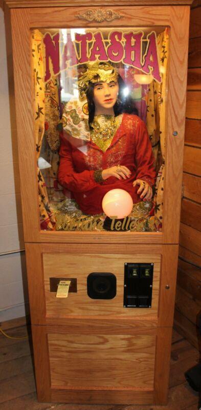 Natasha Fortune Teller Machine - Full Size - Money Maker! Premium Version