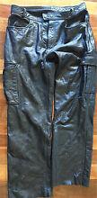 Motorcycle leather pants. Rhino Leather Brand. EC. Sz 36 Diamond Creek Nillumbik Area Preview