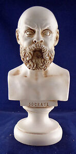Socrates Bust greek statue  NEW