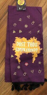 HALLOWEEN Disney Hocus Pocus Sanderson Sisters Kitchen Towel NWT