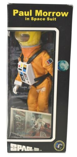 """Classic Toys 8"""" SPACE: 1999 PAUL MORROW in Space Suit Box Action Figure NIB E142"""