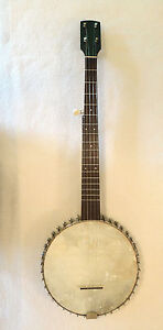 Vintage-Buckbee-Style-5-String-Banjo-from-the-1890s