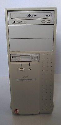 Vintage Dell Dimension P90t Pentium Desktop Workstation 16 MB RAM -Boots to BIOS