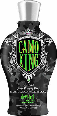 Camo King Black Bronzer & Tattoo Protection Tanning Lotio...