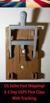 Steampunk Frankenstein Single Light Switch Cover Plate Flip Handle Decor - Brown Decorative Switch Cover Plates