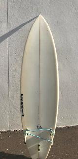 6'8 surfboard