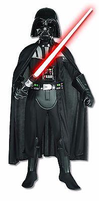 Rubies Star Wars Deluxe Darth Vader Kinder Jungen Halloween Kostüm - Darth Vader Deluxe Kostüm Kinder