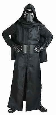 Star Wars Kylo Ren Kostüm komplette mit Gürtel, 5 Film Satz Qualität aus UK