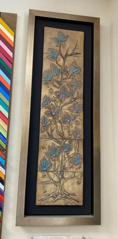 Beautiful Ceramic tile wall art by Victoria Little John
