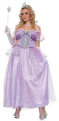 Women's Plus Size Storybook Princess Costume Renaissance Fairy Tale Purple Dress - Plus Size Fairy Costume