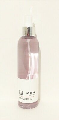 Gap So Pink Women's Fragrance Body Mist 8 oz / 236ml  - New bottle!
