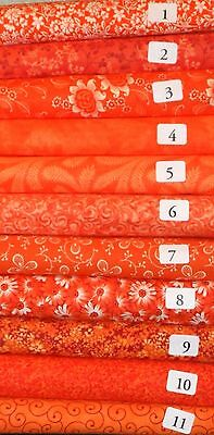 10 Jelly Roll Quilting Fabric Strips 2.5