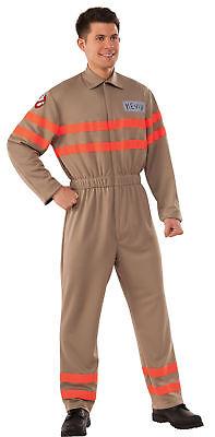 Ghostbuster Kevin Erwachsene Herren Overall Kostüm & Aufblasbar Rucksack (Ghostbuster Kostüm Herren)
