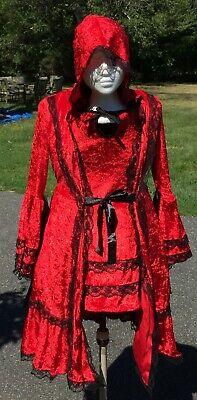 Little Red Riding Hood Halloween Outfit (Tween 2XL (Size 14-16) Spirit Little Red Riding Hood Halloween Costume)