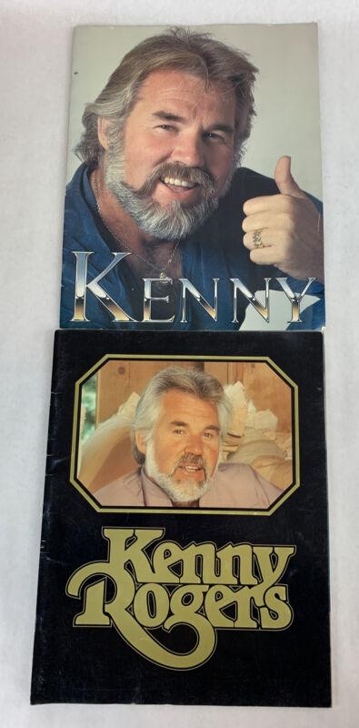 Kenny Roger Souvenir Scrapbook