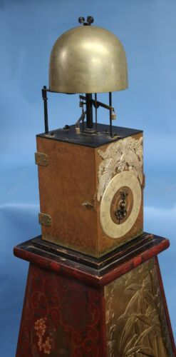 A Giant mid-18th century Japanese Temple Clock