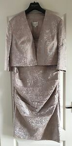 NEW Ladies Wedding Outfit, Size 16, Rose Blush, Suit Mother of Bride/Groom