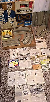 Vintage 1966 Monogram Road America 1/32 Slot Car Race Set Model Racing,No Cars