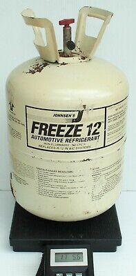 Johnsens Freeze 12 Refrigerant 11 Lb 13oz In Partial 30 Lb Tank R12 Replacement
