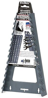 Hansen Global 3500 13pc REVERSED UNIVERSAL Wrench Rack