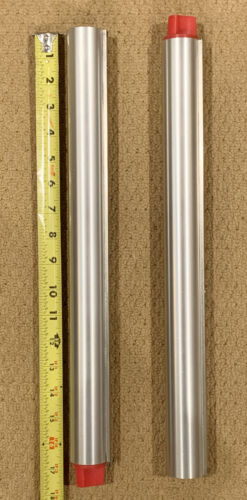 2 - SINAR (2) chrome 16.5 inch extension rails