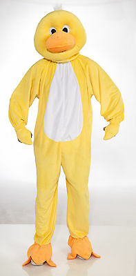 Adult Yellow Duck Mascot Costume Full Body Animal Suit Size - Full Body Animal Costume