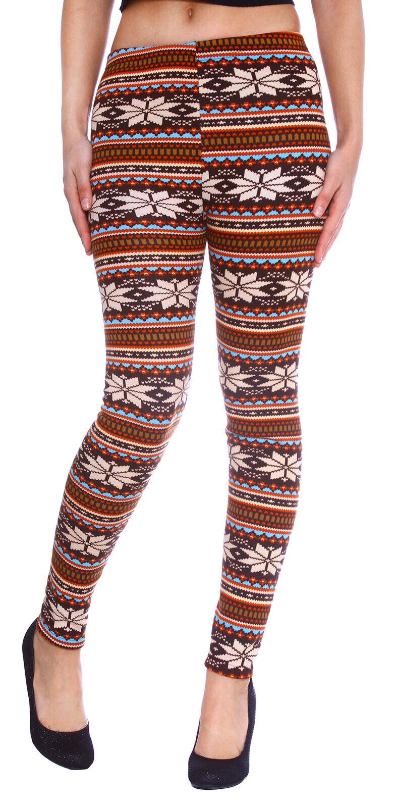 Women Thick Warm Fleece lined Winter Tight Pencil Leggings P