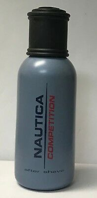 Nautica Competition After Shave 2.4 fl oz / 75 ml unboxed