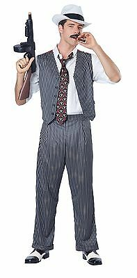 Mobster Gangster Mob Mafia Men Adult - Mafia Costumes