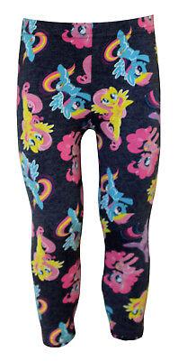 Licensed My Little Pony Stretchable Leggings for Girls Children, - My Little Pony Leggings