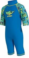 Zoggs Kids Deep Sea One Piece Swimming Costume Blue for 1-6 Years Kids