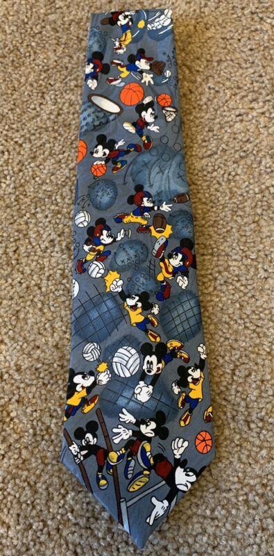 Vintage Disney Mickey Unlimited Balancine Inc. Tie - Mickey Mouse Sports