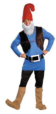 Papa Gnome Adult Costume Elf Comical Funny Tunic Disguise Famous - Papa Elf Kostüm