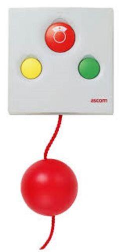 Ascom NIPC-W3P/1C Emergency Call System Equipment Pull Cord - White 3b Passive