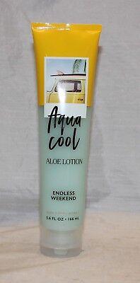 Bath & Body Works Endless Weekend Aqua Cool Aloe Body Lotion -  5.6 oz