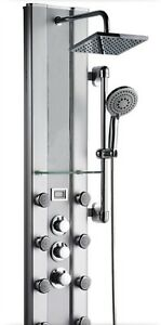 Dyconn Thermostatic Shower Panel Head with 8 Massage Jets