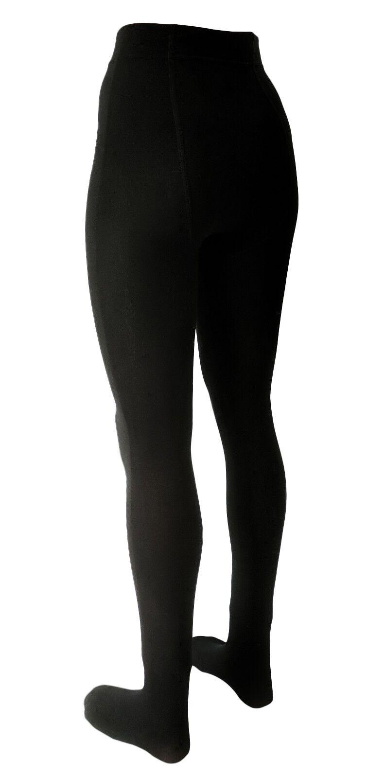 3 Strick-Strumpfhosen Thermo-Strumpfhosen für Damen in schwarz! mit Innenfleece