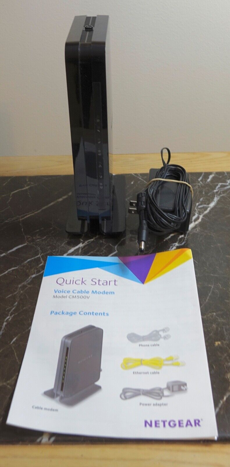 Netgear CM500V 16x4 DOCSIS 3.0 680Mbps High Speed Cable Modem With Voice... - $32.00