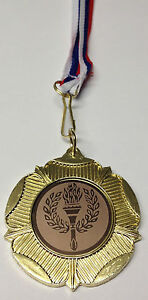 Olympic Metal Bronze/Silver/Gold Medals With Ribbon included & FREE P+P
