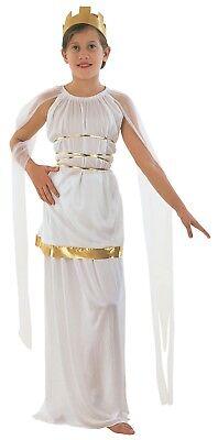 ATHENA GREEK GRECIAN ROMAN GODDESS GIRLS COSTUME