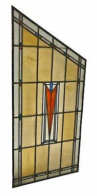 George Grant Elmslie Designed Old Second National Bank Building Art Glass Window