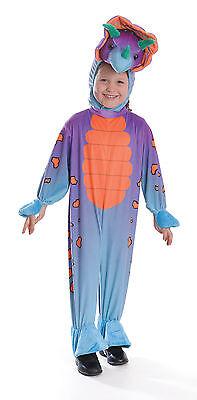Childrens Triceratops Fancy Dress Costume 116Cm Jurassic Park Dinosaur Outfit - Jurassic Park Fancy Dress