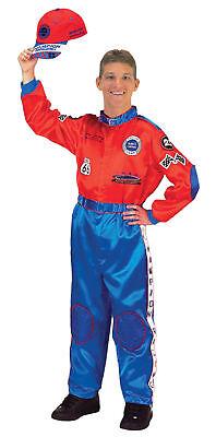 Aeromax Racing Suit Adult Mens Costume Driver High Quality Theme Party - High Quality Mens Costumes
