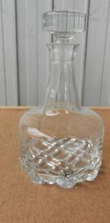 Orrefors DECANTER ERIK Spirits Water Wine Pitcher Crystal Glass