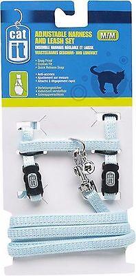 Catit Cat Adjustable Harness & Lead Set by Hagen -4 Colours Large