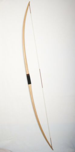 "Traditional english longbow ""Little John"" 76"" 25-50 lbs"